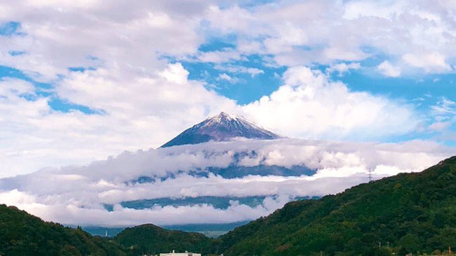 天叢雲剣 富士山